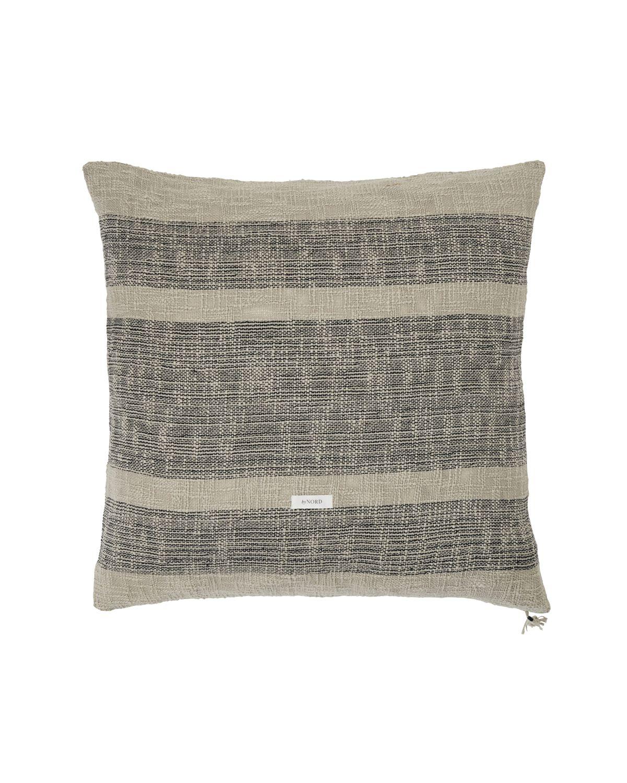 Throw pillow cover, Ashild, Haze w. coal
